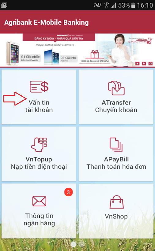 Cách kiểm tra tài khoản trong thẻ ATM Agribank rất đơn giản